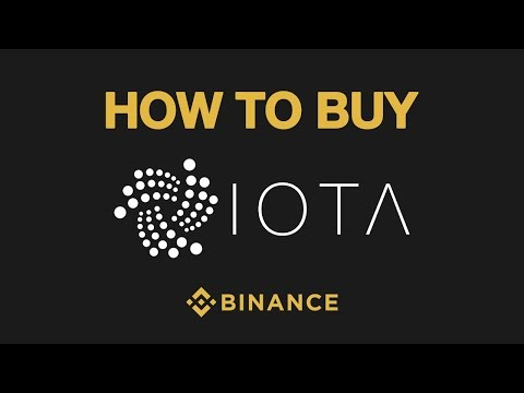 How To Buy Iota on Binance [US ALLOWED]