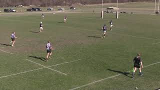 Iowa Central rugby vs UW-Whitewater 7s 4-20-19