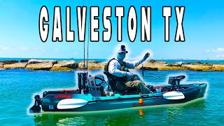 *SUPER CLEAR WATER* Fishing Galveston North Jetty Spectacular
