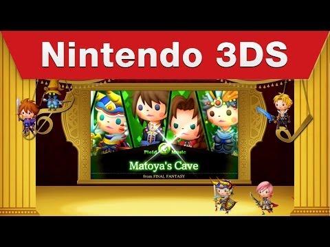 Nintendo 3DS - THEATRHYTHM FINAL FANTASY CURTAIN CALL E3 Trailer