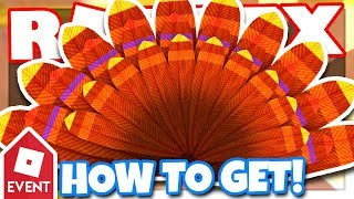 [EVENT] How to get the TURKEY TAIL | Roblox Design It