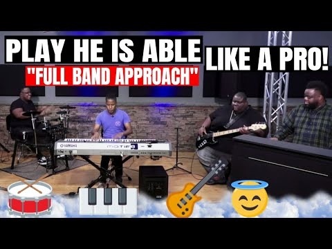 """He Is Able - Deitrick Haddon & Voices of Unity (FULL BAND) - """"Play This Song"""" Thursday!!!"""