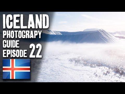 AN EPIC RETURN to Iceland – Landscape Photography at Hverfjall | 4K