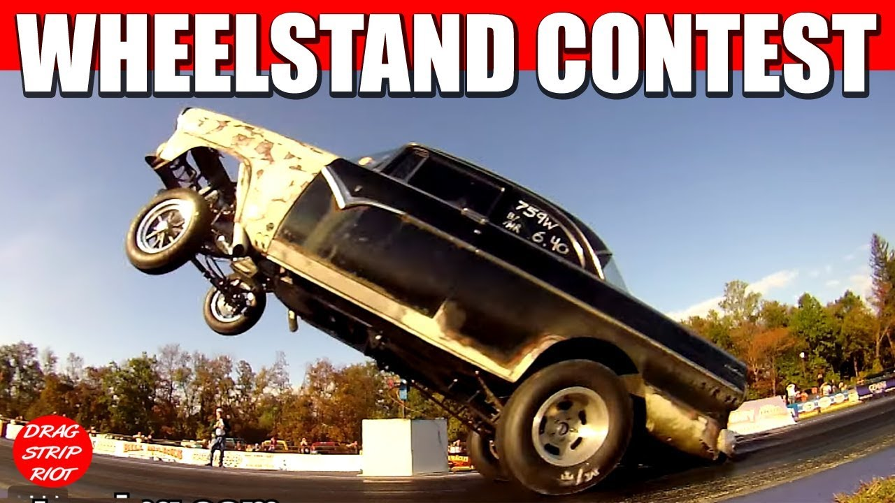 2013 Wheelstand Contest Gassers Drag Racing Cars Jalopy