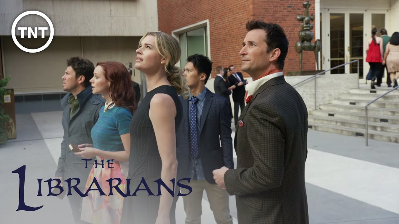 Stranger Than Fiction | The Librarians | TNT  - A trailer for the TV series The Librarians, which is about a group of librarians who go on adventures in an effort to save ancient magical artifacts.