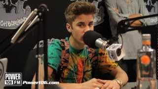 Does Justin Bieber Hit like a girl?