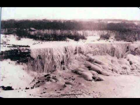 Niagra falls frozen 1911