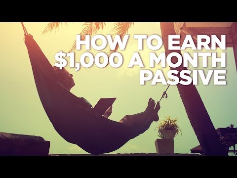 Earn $1,000 a Month Passive Income investing in Real Estate