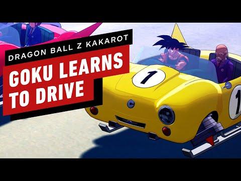 Dragon Ball Z: Kakarot - Goku And Piccolo Go To Driving School