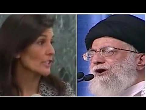 WHEN UN AND EU LEADERS PRAISED IRAN, NIKI HALEY SAID SOMETHING THAT MADE EVERYONE'S JAW DROP!