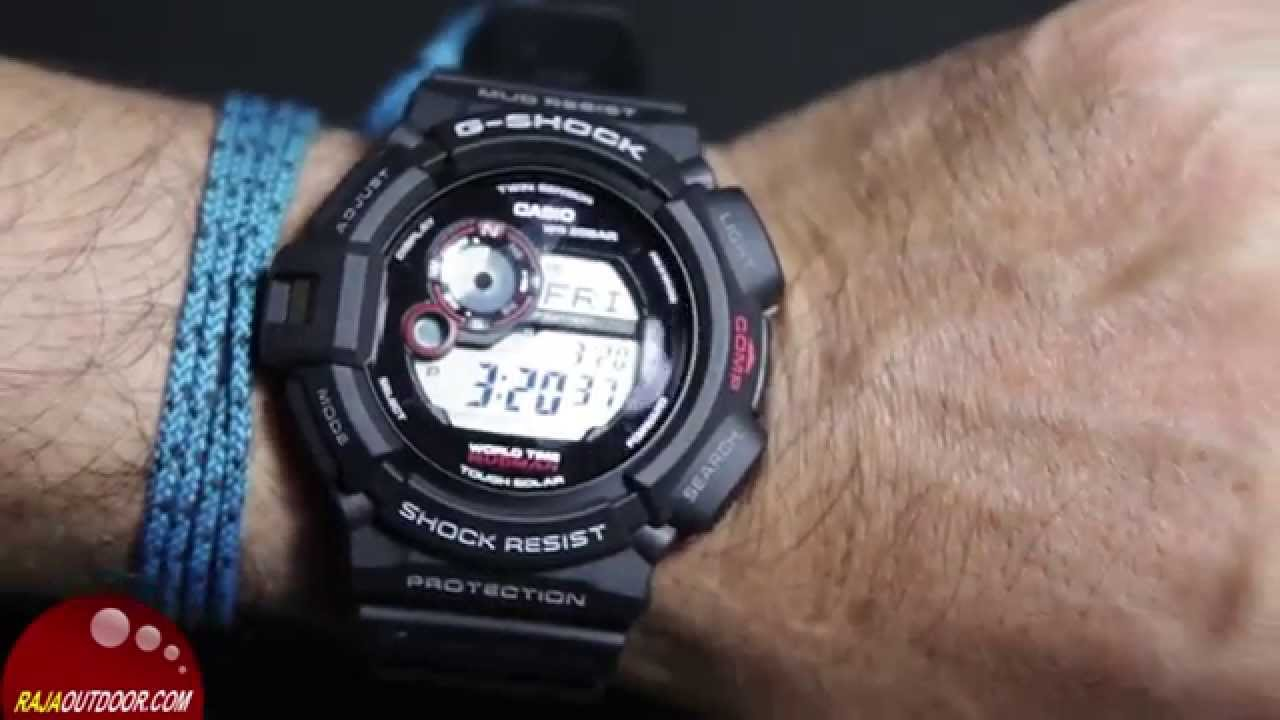 Casio G-shock Mudman G-9300-1 - YouTube cfa0f565ddfb