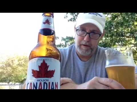 The Beer Review Guy# 219 Molson Canadian Lager 5.0%abv