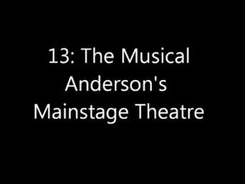 13 The Musical Full at Anderson Mainstage Theatre