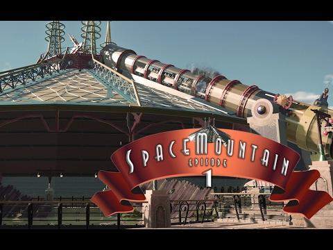Let´s build Disney Space Mountain Mission 2 Paris (Planet ...