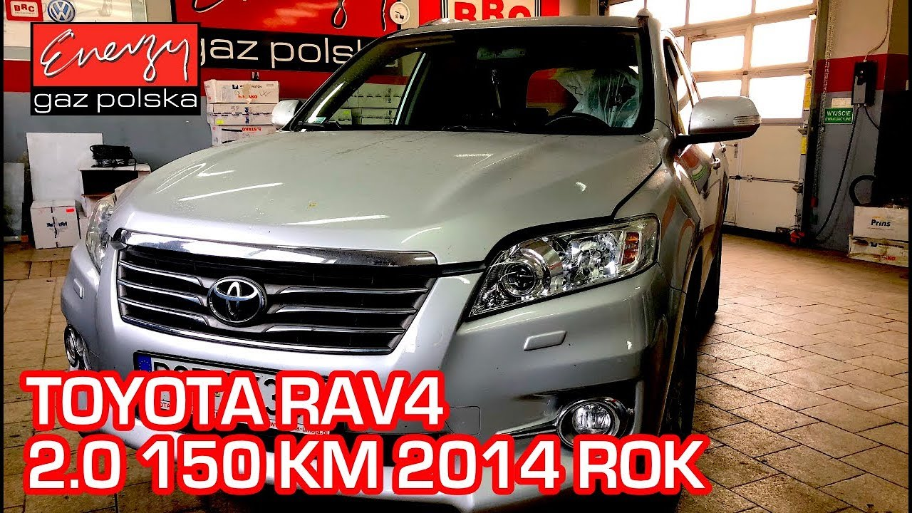 Montaż LPG Toyota RAV4 z 2.0 150KM 2014r w Energy Gaz Polska na gaz BRC SQ 32 OBD