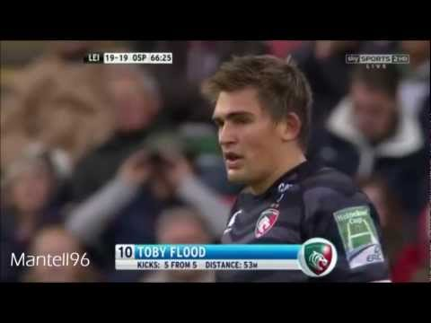 Toby Flood Penalty from 10 Meters into his Own Half