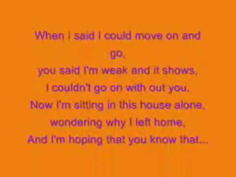 Alyssa Reid ft Jump Smokers - Alone Again Lyrics