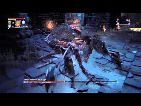Bloodborne: El Boss bestia sediente de sangre y yo morimos juntos