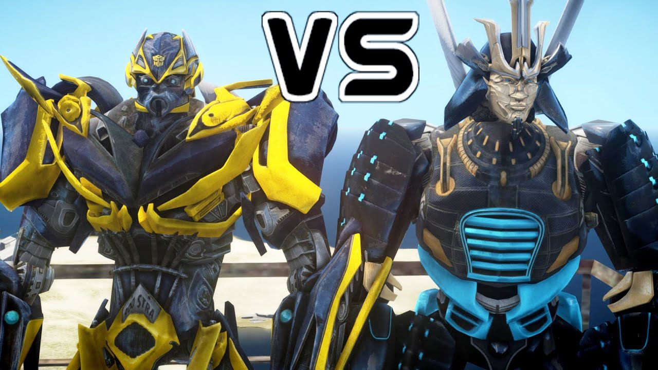 bumblebee vs drift transformers battle youtube