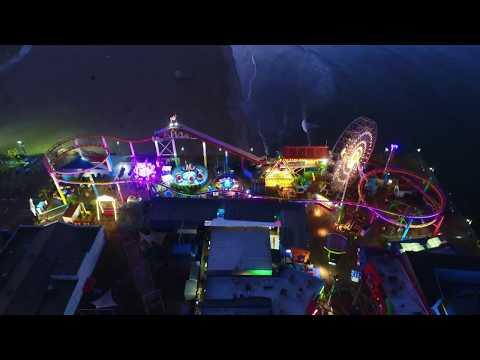 Santa Monica Pier via Drone