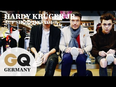 Schuh-Shopping mit Hardy Krüger Jr. | GQ Supertramp | gq  germany fashion interview