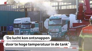 STANK: Overlast in groot deel van Nederland door ongeluk met tankwagen Alblasserdam