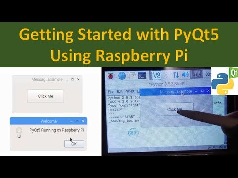 Getting Started with PyQt5 on Raspberry Pi