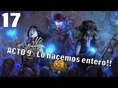 PATH OF EXILE | METAMORPH HARDCORE | Acto 9 ENTERO casi al final ya