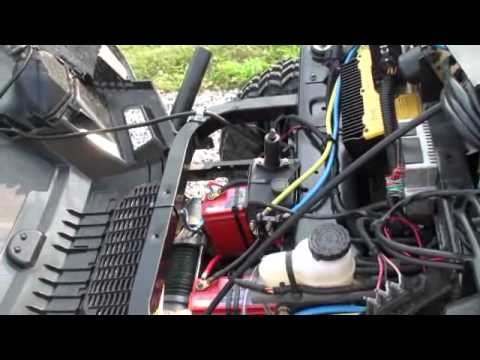 hqdefault 2 polaris ranger ev viper winch install youtube polaris ranger ev wiring diagram at fashall.co
