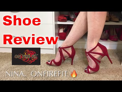 Shoe Review - Nina High Heels by on Fire Fit