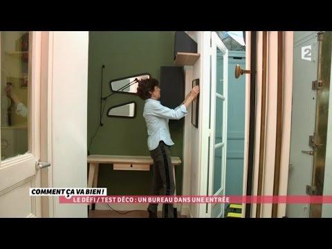 [DÉCO] Aménager un bureau dans une entrée #CCVB