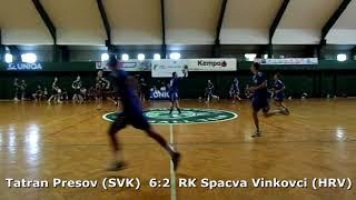 Handball. U17 boys. Sarius cup 2017. Tatran Presov (SVK) - Spacva Vinkovci (HRV) - 11:3 (1st half)