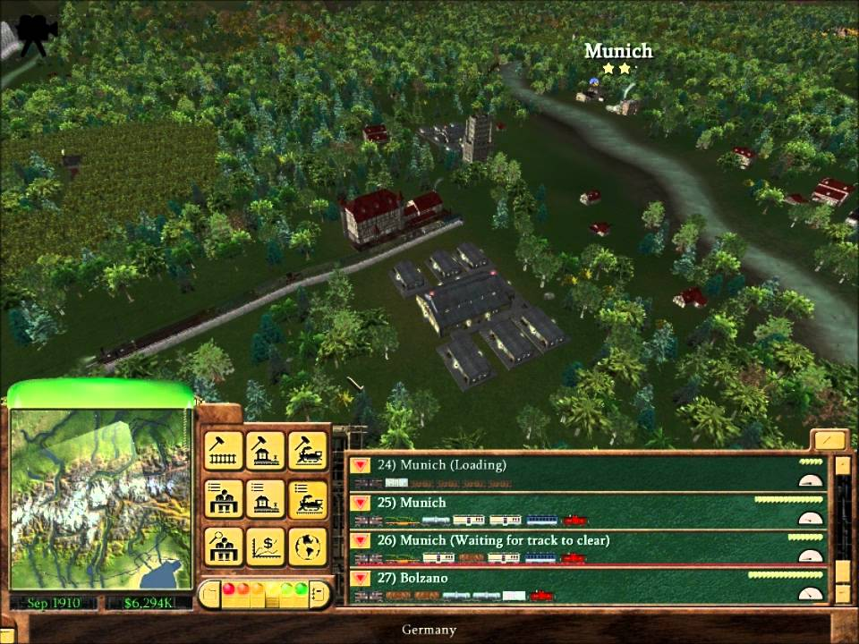 Railroad Tycoon 3 - Crossing the Alps (HD)