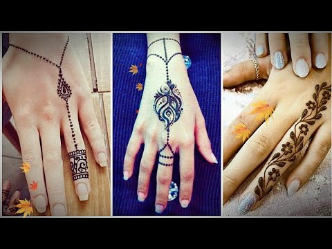 Stylish Four Mehendi  Design Tutorial for *Young and Peppy* College Going Girls thumbnail