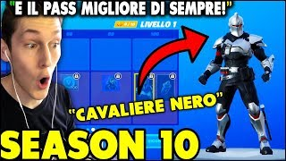THE BLACK CAVALIERE is TORNATO! ForTNITE'S SEASON 10 Battle Pass is a NEW SEASON REACTION