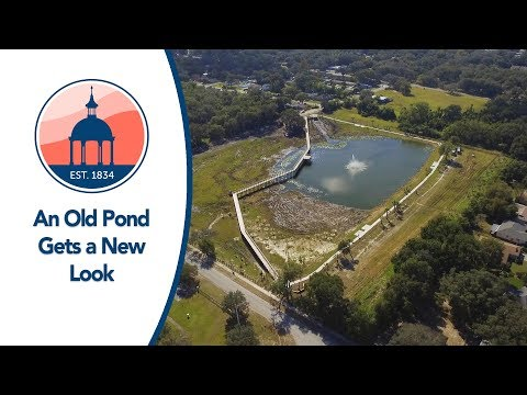 An Old Pond Turns Into A New Park! - Lucy Dell Community Pond