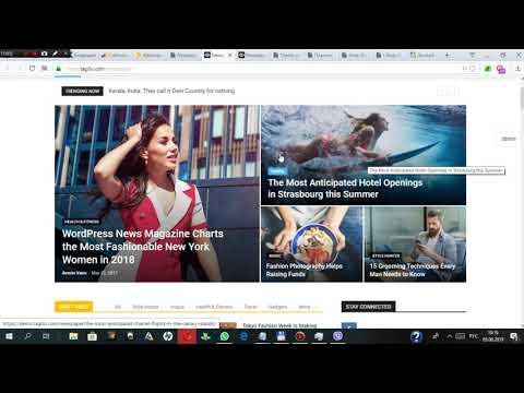 Создание онлайн журнала/блога на WordPress #2