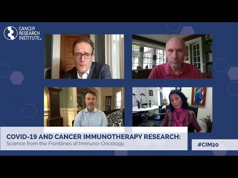 COVID-19 and Cancer Immunotherapy Research: Cancer Research Institute's Live Stream Event