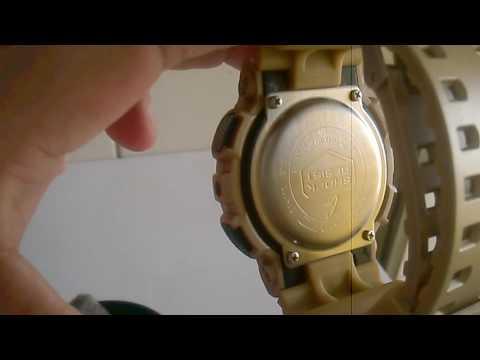 654608f520d relógio masculino g shock dourado + caixa - YouTube
