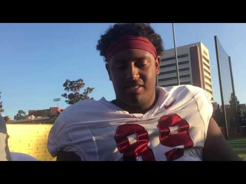 USC DE Christian Rector on health, finishing plays thumbnail