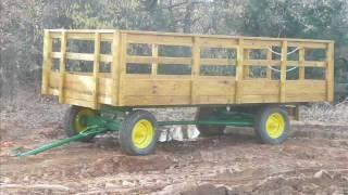 Rebuilding John Deere Hay Wagon