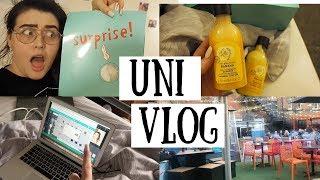 UNI VLOG | Unboxing £2 Surprise Parcel & Catching Up :)
