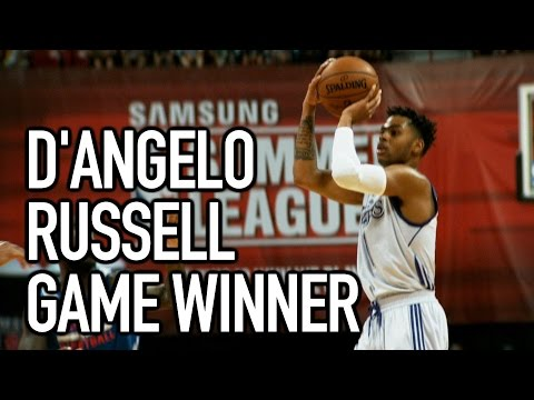 Wild Finish as D'Angelo Russell Hits the GAME WINNER!!!