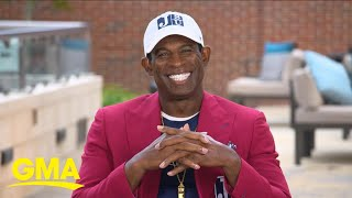 Deion Sanders shares why he chose to coach at an HBCU l GMA