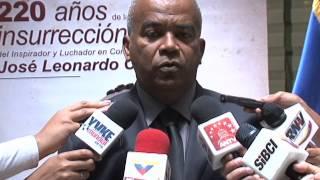 """Foro """"220 años de la insurrección de José Leonardo Chirino en contra de la esclavitud"""""""