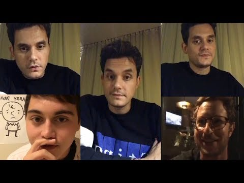 John Mayer | DUAL Instagram Live Stream | 24 October 2017