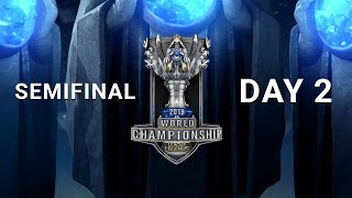 2018 World Championship Semifinal Day 2 | C9 vs FNC