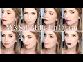FULL COLLECTION 36 NYX Soft Matte Lip Cream Swatches on Pale Skin