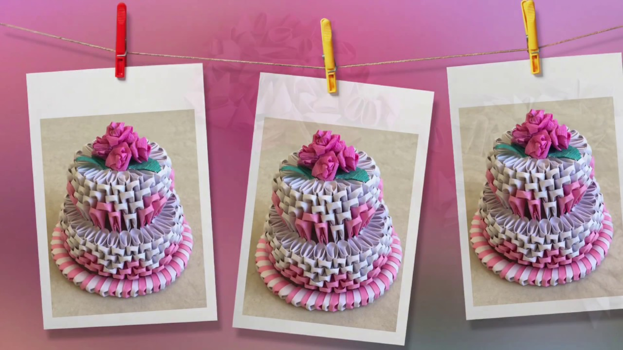 How to make 3d origami cake cake tutorial priti sharma how to make 3d origami cake cake tutorial priti sharma jeuxipadfo Choice Image