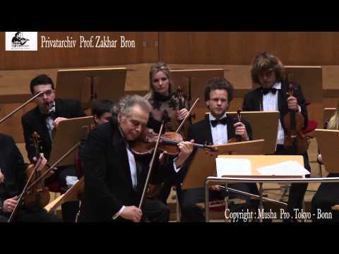 Zakhar Bron spielt Tzigane von Ravel